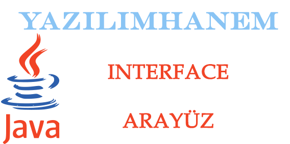 Java interface Arayüz