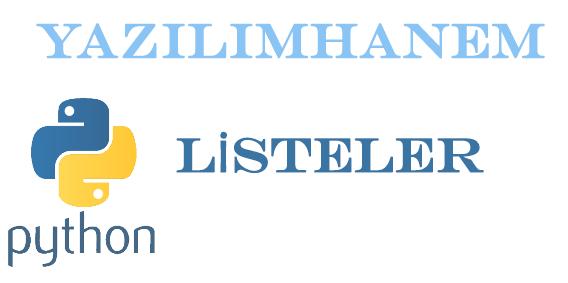 Python Listeler