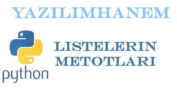 Listelere ait metotlar